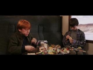 Гарри Поттер и философский камень отрывок из фильма - Jelly Belly Harry Potter Bertie Botts  (Гарри Поттер и Рон Уизли)