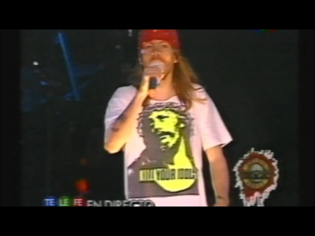 Guns N' Roses - Don't Cry (Argentina 1992)