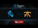 Newbee vs Fnatic, Shanghai Major, LB Round 2