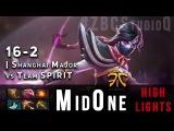 Fnatic.MidOne 7731 MMR Punishing Templar Assasin 16-2 vs. Team Spirit @ Shanghai Major