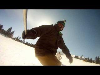 Snowboard GoPro Edit [HD] Free-ride in Bansko Bulgaria
