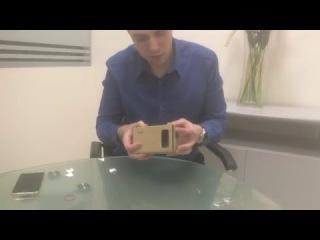 Как собрать Google Cardboard своими руками?