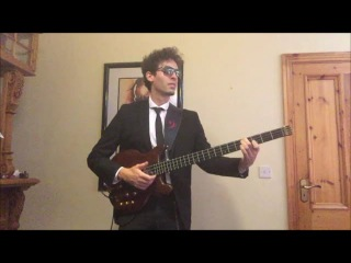 Karl Clews on bass - Theme from The Pink Panther by Henry Mancini (solo bass arrangement)