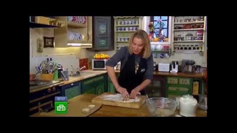 Завтрак с Юлией Высоцкой - Овсяные булочки на кефире