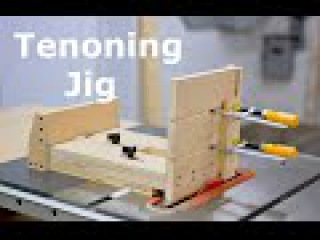 Shopbuilt - Self positioning tenoning jig