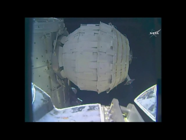 [ISS] Timelapse of Bigelow Expandable Activity Module Inflation
