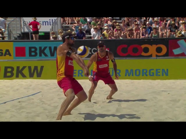 Herrera/Gavira vs Pedro Solberg/Evandro (Semifinals) GSTAAD MAJOR 2016