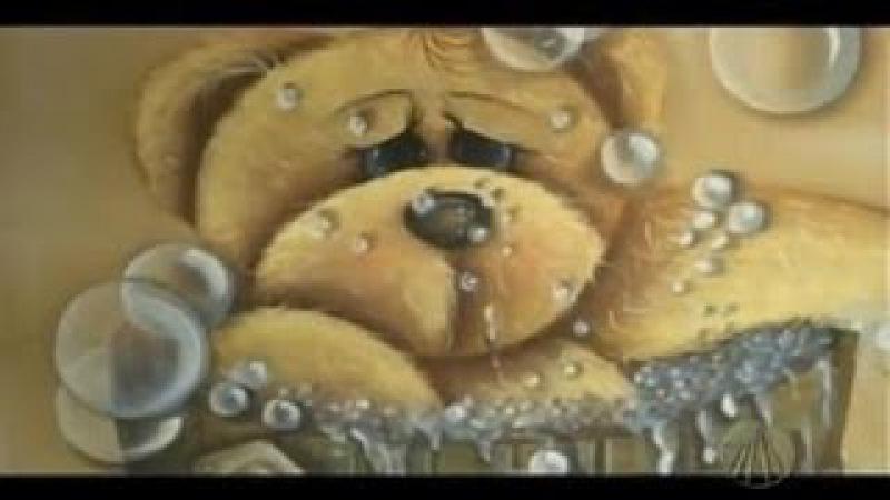 Pintura Gestual - Bolhas | Tudo Artesanal - 18 de Agosto de 2012