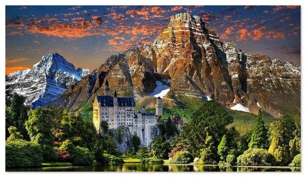 Замок Нойшванштайн — сказочное место Германии