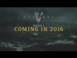 Викинги 4 сезон - Русский Трейлер (дата выхода - 2016)