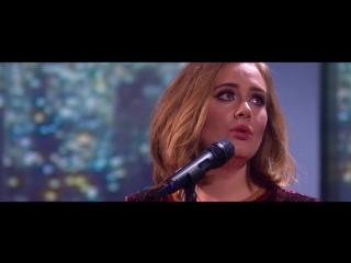 Adele - when we were young - live at the brit awards 2016 [hd]