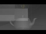Демо-ролик с демонстрацией симуляции поведения частиц