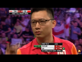 England vs China (PDC World Cup of Darts 2016 / Second Round)