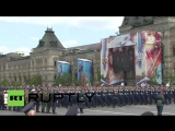 РВВДКУ Генеральная репетиция парада 07.05.16.
