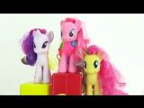 Видео для девочек. Учимся делиться вместе с Пони Пинки Пай и Машей