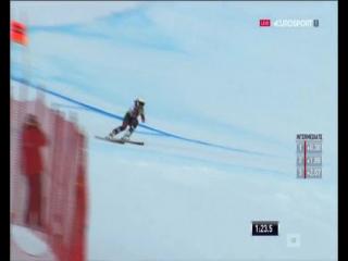 Кубок Мира 2015-2016. Этап 6 - Валь д'Изер (Франция), Альпийская комбинация, Скоростной спуск, 1-я попытка, Женщины