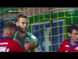 Игорь Акинфеев отражает пенальти против «Кубани»