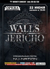 22.06 - Walls Of Jericho (USA) - Opera (С-Пб)