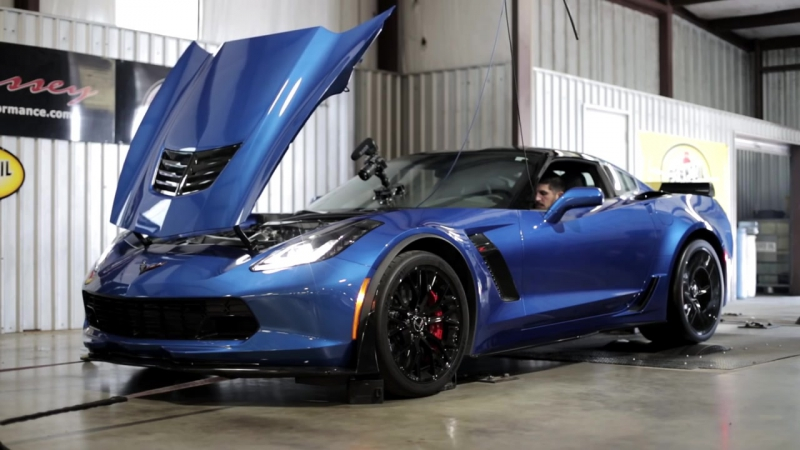 2016 HPE1000 Z06 Corvette Chassis Dyno Testing