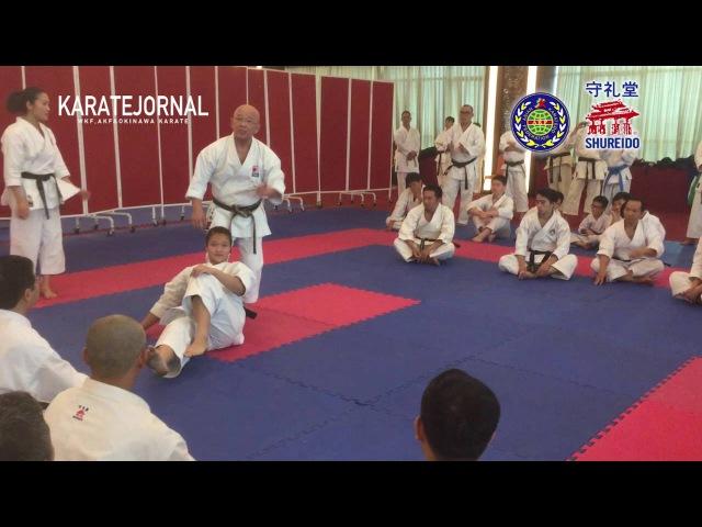 SEPAI BUNKAI SAKUMOTO TSUGUO AKF TRAINIG CAMP 2016 VIETNAM