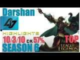 CLG Darshan | Swain Top vs Kassadin | Pro Replays Highlights #103