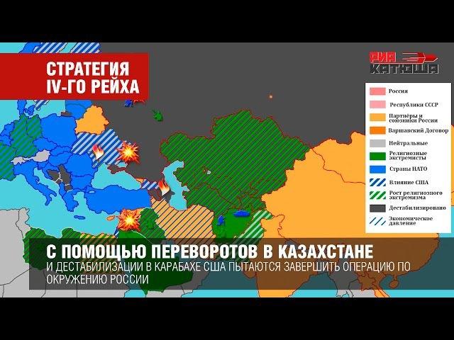 Кольцо Анаконды: стратегия IV-го рейха