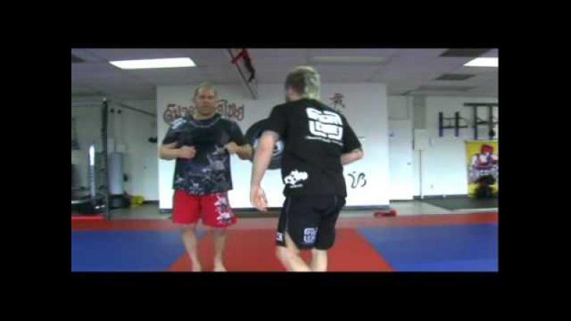 MMA Takedowns: Erik Paulson's Running Knee Tap