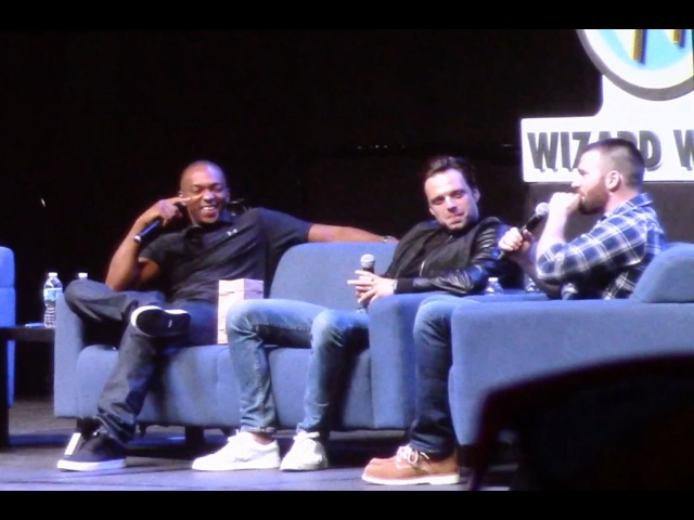WW Philly - Team Cap FULL PANEL (Chris Evans, Sebastian Stan, Anthony Mackie)