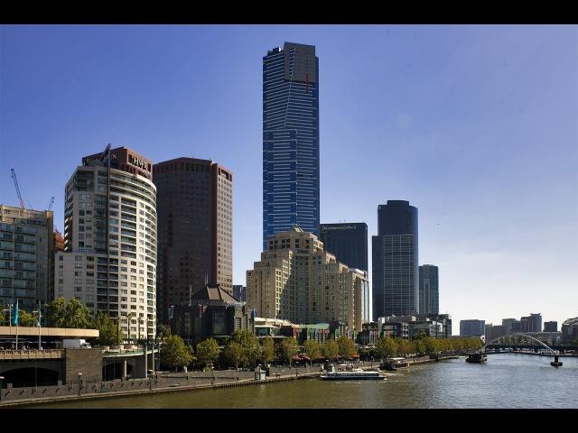 Мельбурн. Вид с самого высокого небоскреба Eureka Tower. Путешествие по Австралии.