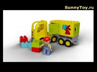 Конструктор Lego Duplo Лего Дупло Желтый грузовик
