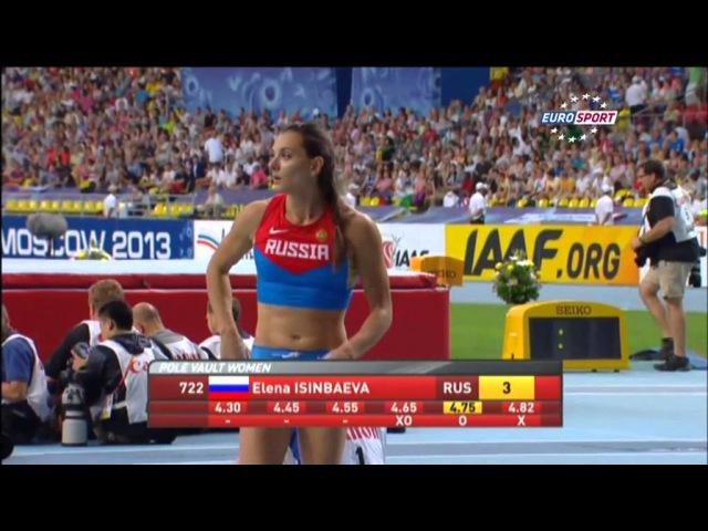 Чемпионат мира Елена Исинбаева трехкратная чемпионка мира Чемпионат мира 2013 Легкая атлетика isinba