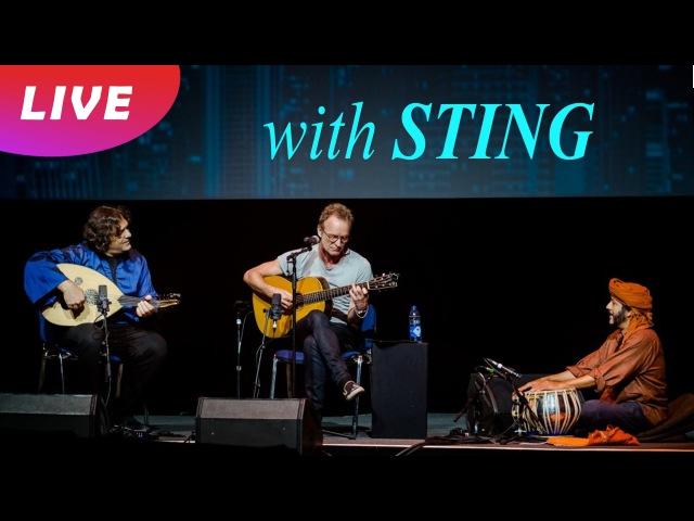 Sting - Desert Rose (unplugged @ YPO EDGE) feat. Kamal Musallam Rashmi Bhatt
