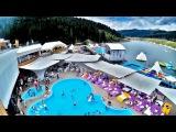 Полный обзор комплекса VODA day&night club Буковель. Озеро молодости. Лето в Карпатах.