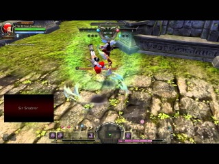 Pro Sniper (Quize) vs Pro Barbarian (Ретна) Dragon Nest PvP (Part 1)