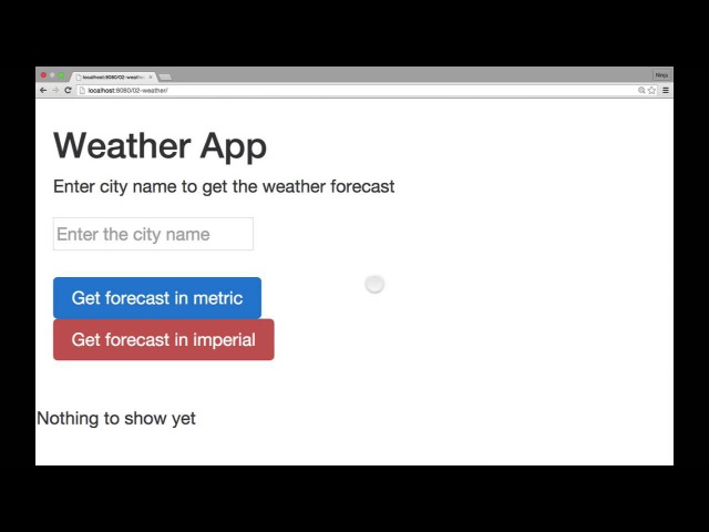 Fullstack JavaScript: jQuery, OpenWeatherMap API and JSONP (02-weather)