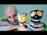 Видео и игрушками. Талантливый котенок - Мур рисует Мяу. Видео для детей.