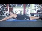 Исправляем спину- тренировка для новичков. Сергей Югай
