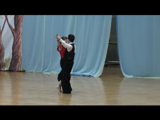 1-й региональный турнир по спортивным танцам, Европейская программа, Визитка, Приветствие- Танец КВИК-СТЕП))