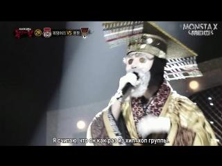 [RUS.SUB][03.01.2016] King of Masked Singer - Kihyun (2 раунд)