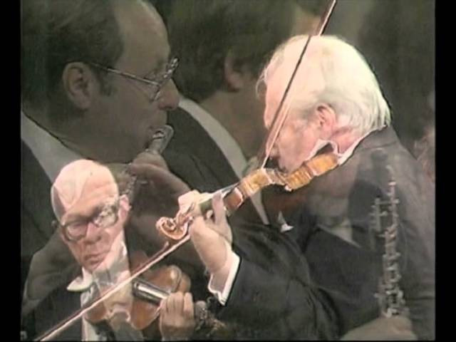 Mendelssohn - Violin Concerto Op. 64, Isaac Stern with the Jerusalem Symphony Orchestra, IBA