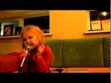 девочка 5 лет перепела Григория Лепса   Рюмка водки на столе! Очень круто!