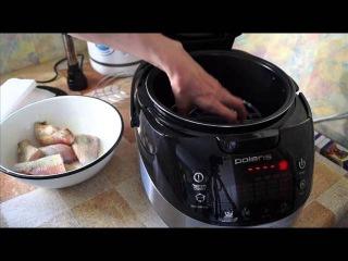Домашние видео рецепты - рыба горячего копчения в мультиварке