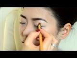 Макияж для азиатских глаз.