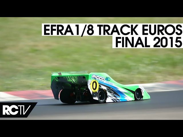 EFRA 1/8th Track Euros 2015 - The Final in HD
