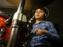 ALEX Perkusista 8 lat (8yo drummer) - AMBERIAN DAWN Knock, knock who`s there... - drum cover