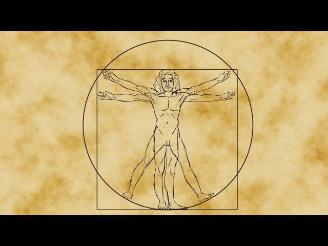 Математика Витрувианского человека Да Винчи - Джеймс Эрл