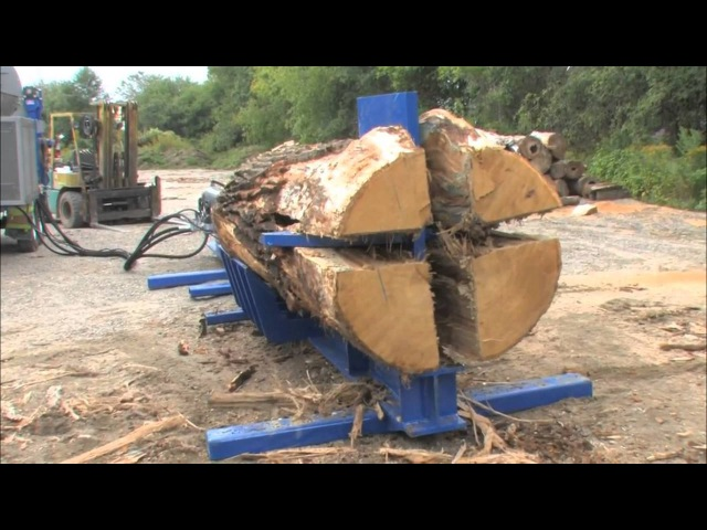 Woodcutter Lifehacks: Splitter, Saw and Uprooting Device