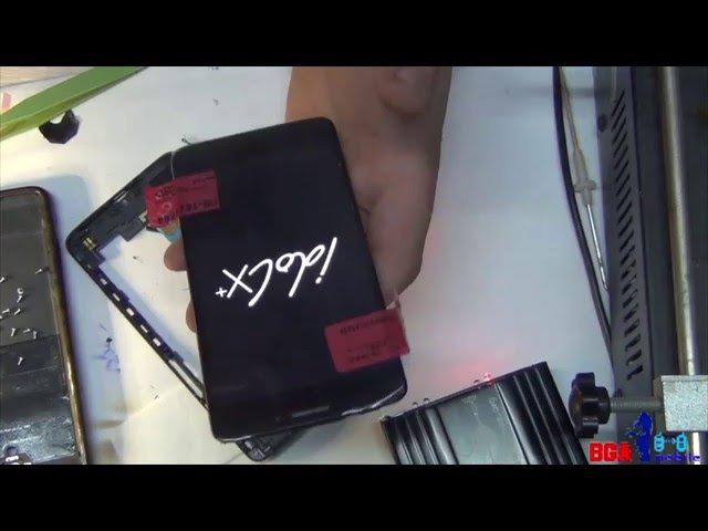 TCL IdolX S960 замена дисплейного модуля.