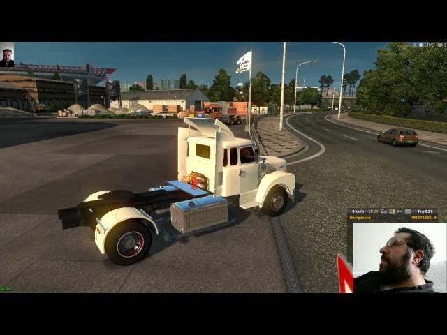 Euro Truck Simulator 2 SCANİA 111s Nostalji Mod