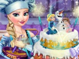 ХОЛОДНОЕ СЕРДЦЕ Супер игры! Игра Свадебный торт Эльзы! играем онлайн БЕСПЛАТНО! Мультик!